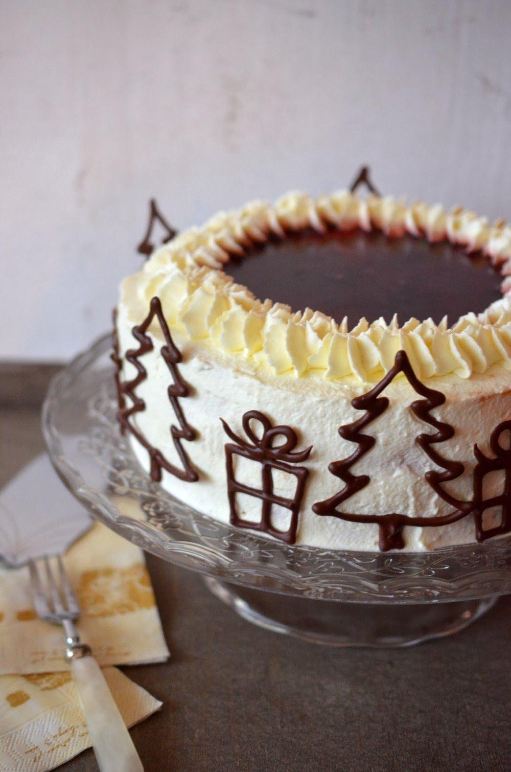 Fremdgebloggt Mandel Gluhwein Torte Kuchen Und Torten Rezepte Backen Weihnachten Leckereien