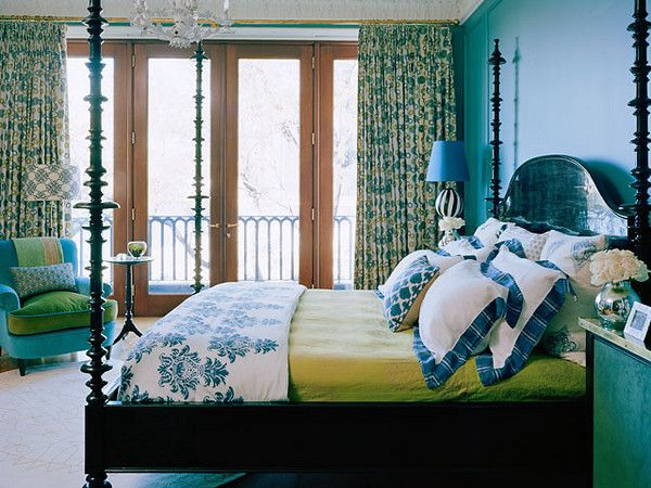 Blue Green Bedroom sleeping better can be as easy as redecorating your bedroom | blue