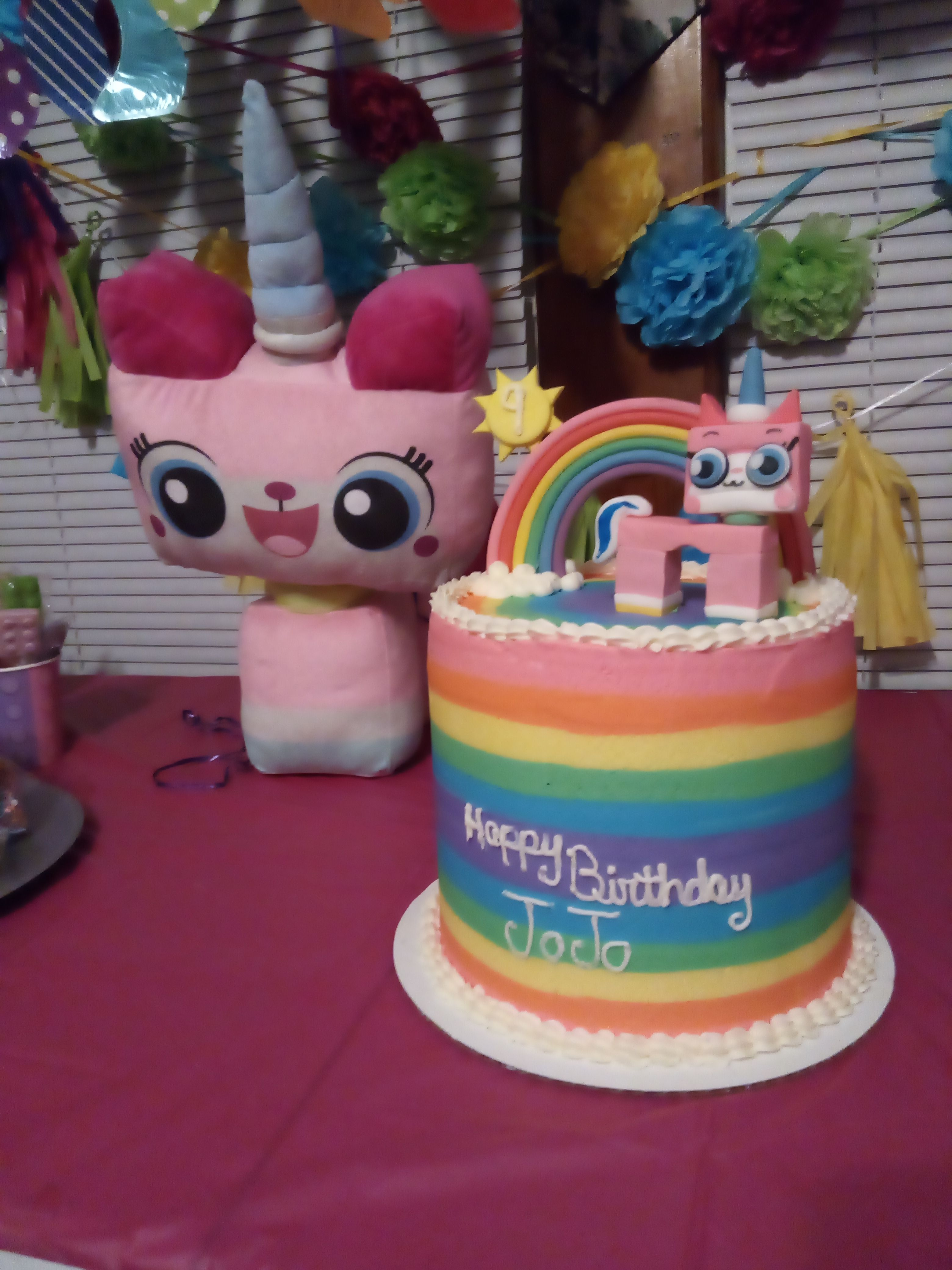 Unikitty Birthday Cake Cake Birthday Cake Cake Designs