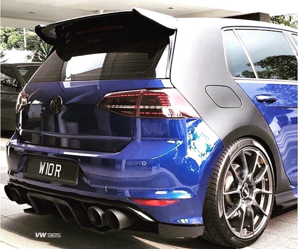 Custom again MK7R VW365 Volkswagen golf gti, Golf