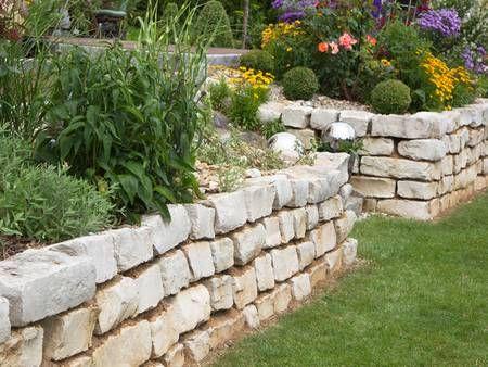 Hochbeet Selber Bauen Schritt Fur Schritt Anleitung Steinmauer Garten Garten Bepflanzen Und Garten Hochbeet