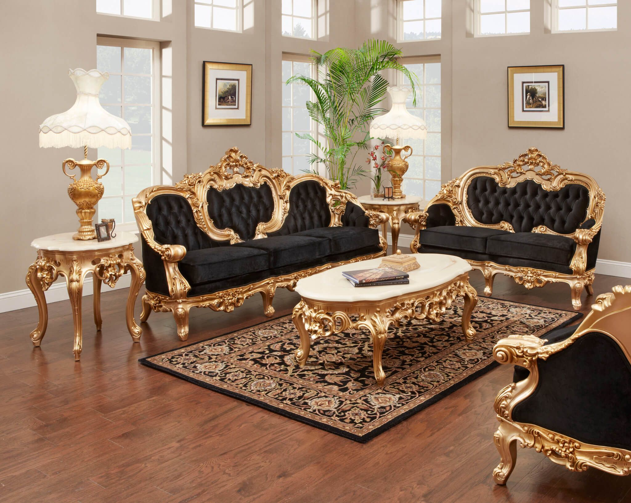 8 Smart Concepts of How to Build Antique Living Room Sets