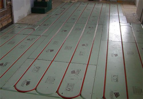 Water Radiant Floor Heating Flooring