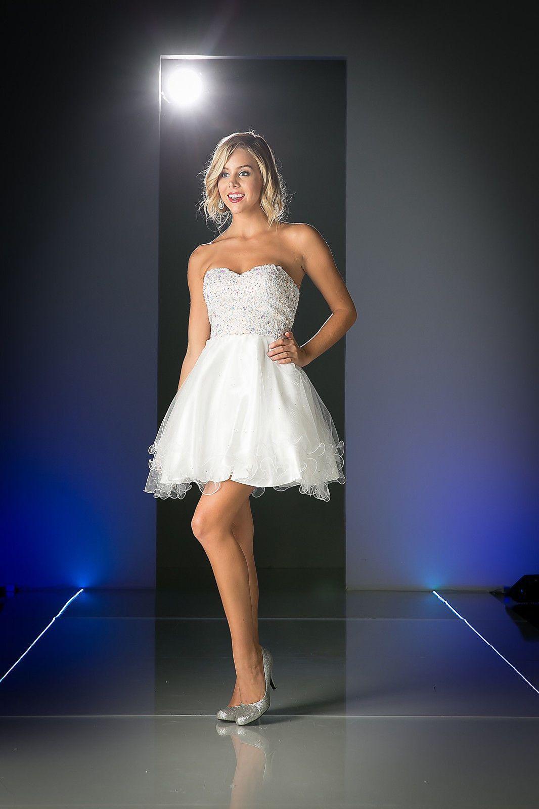 Short sexy homecoming prom dress formal cocktail fun flirty shorts