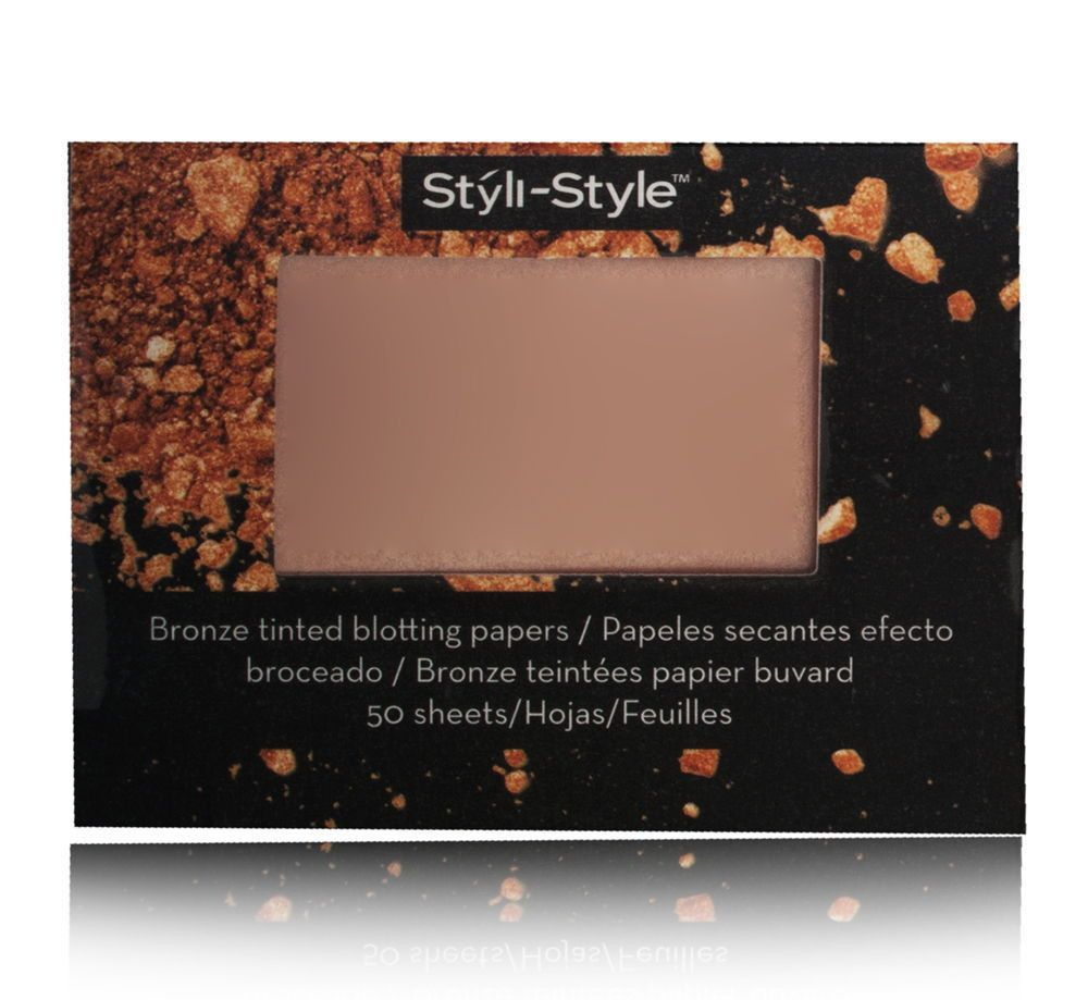 Styli Style Bronze Tinted Blotting Papers Radiant New Products Acnes Oil Control Film Sheet