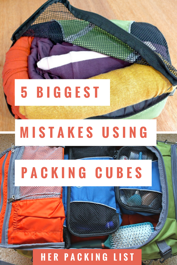 Packing Cells Packing Cubes Everything You Need To Know To Tame Your Luggage
