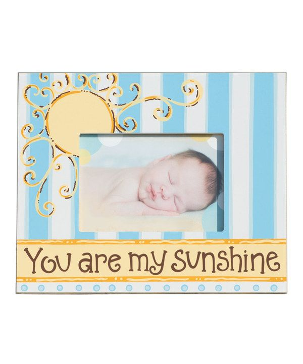 blue you are my sunshine frame - You Are My Sunshine Frame