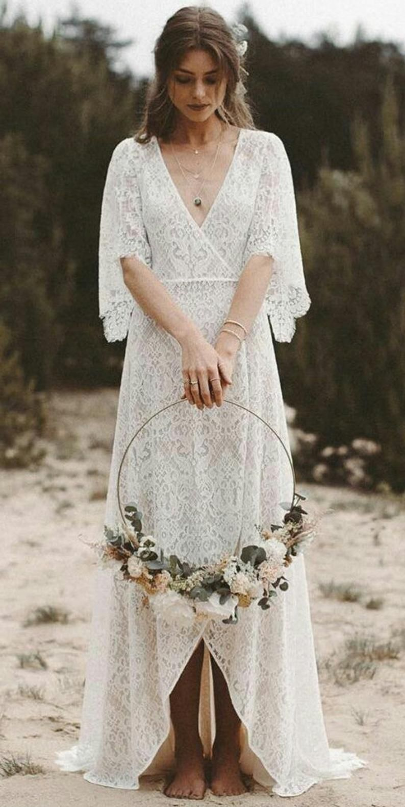 Boho Wedding Dress Vintage Wedding Dress Boho Lace Dress Wedding Lace Dress Wedding Boho Lace Vintage Lace Dress Vintage Lace Dress In 2021 Vintage Wedding Dress Boho Lace Dress Vintage Empire [ 1580 x 794 Pixel ]