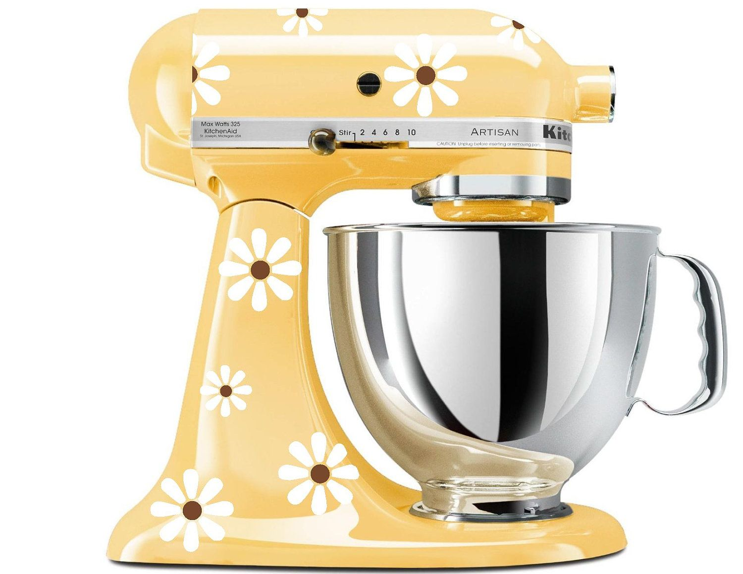 KitchenAid Stand Mixer Decal - Vinyl Sticker for Stand Up Mixer ...