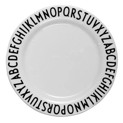 Design Letters Melamine Plate Simple Style Co Kids Melamine Plates Melamine Plates Kids Melamine