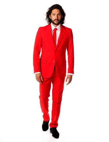 Traje Sr. Rojo endemoniado hombre Opposuits™  04131aecc8e