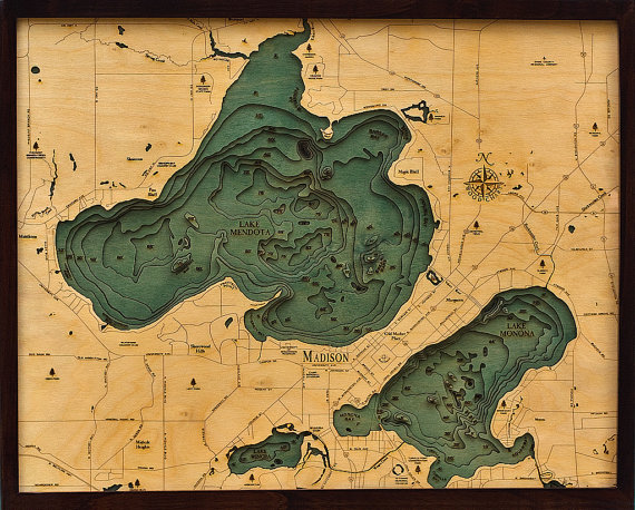 lake mendota topographic map Pin On Data Visualisation lake mendota topographic map