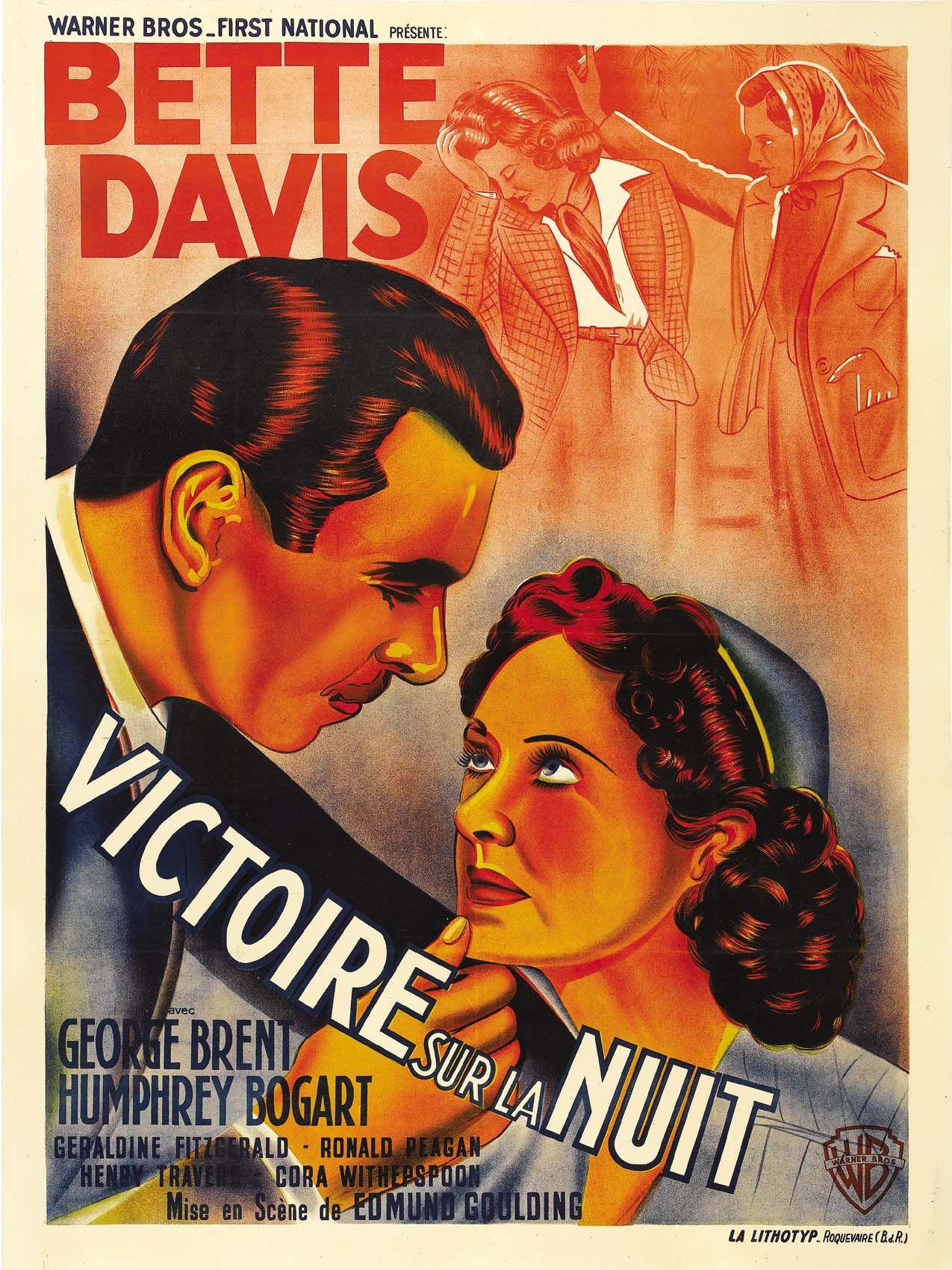 Dark Victory 1939 Bogart Movies Bette Davis Classic Movie Posters