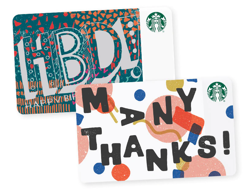 Starbucks Coffee E Gift Card