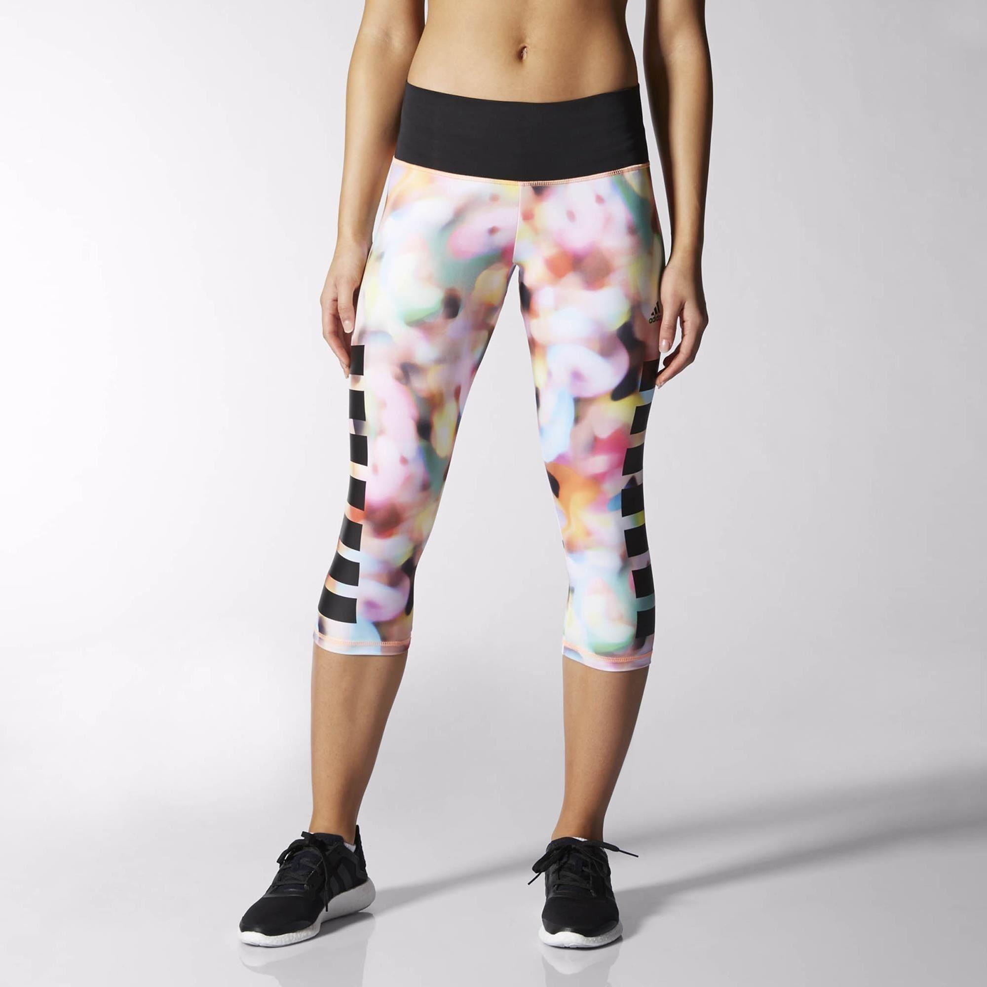 f6bc489182ec Adidas Infinite Series Techfit Women s Capri Running Tights - AW15   Amazon.co.uk  Clothing