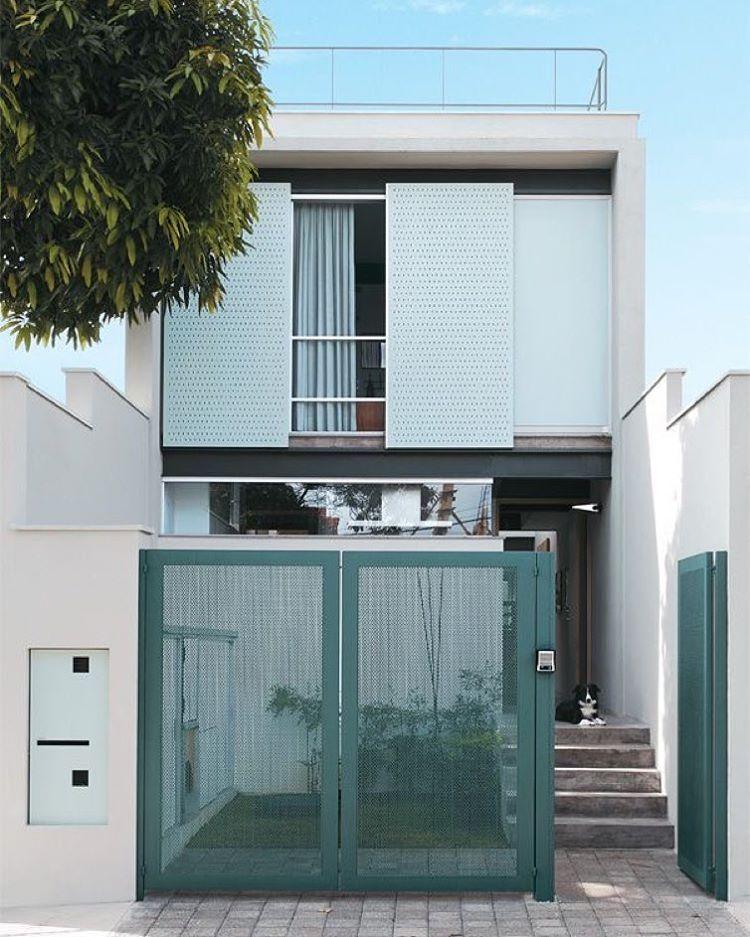 Uberlandia U2013 Minas Gerais. Schmale HäuserArchitekturHaus ProjekteRund ...