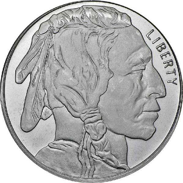 1 Oz Buffalo Silver Round Silver Bullion Silver Spot Price Silver Coins