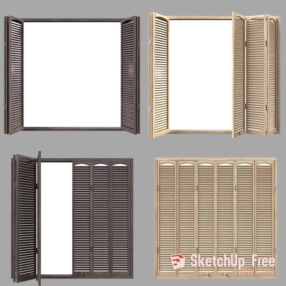 1293 Windows Sketchup Model Free Download | Sketchup Free