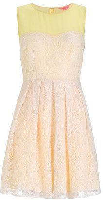 2dd1d6bc4e Monsoon Fusion Dandelion Lace Prom Dress - ShopStyle Evening