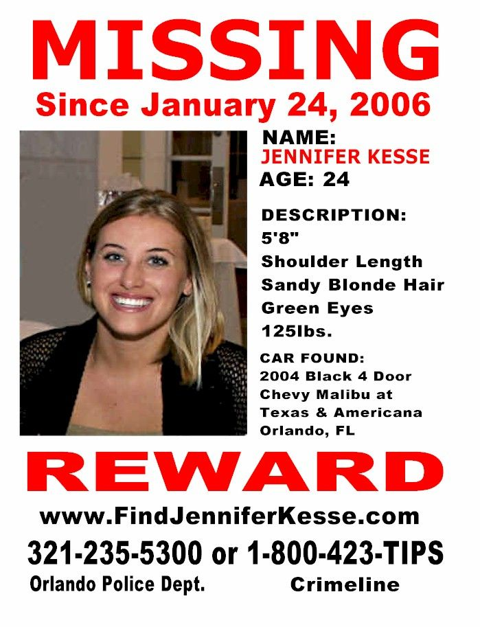 Missing Person Flyer Template Arch Times