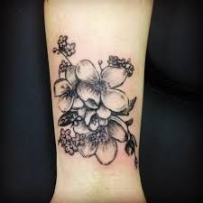 Image result for hawthorn flower tattoo