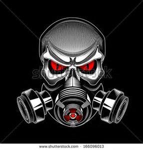 Image Result For Five Finger Skull Gas Mask Gas Mask Art Skull Art Gas Mask Tattoo