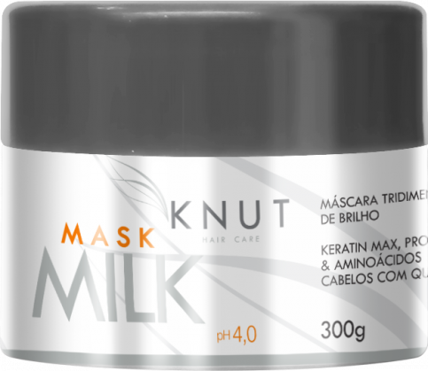 KNUT Hair Care Produtos Tratamentos Mask Milk 300g
