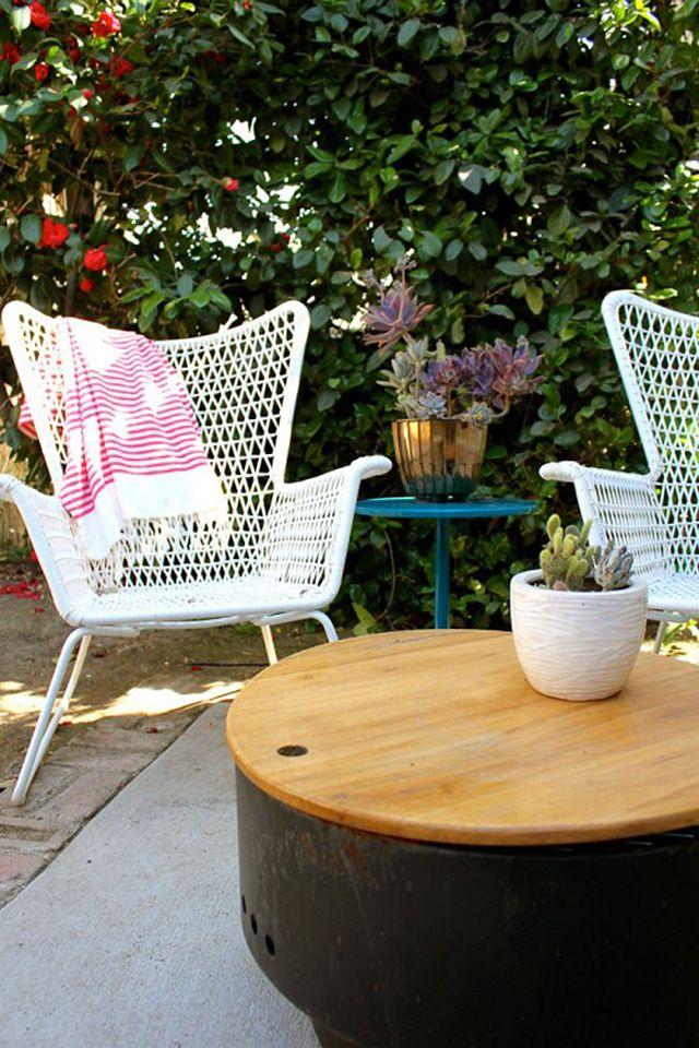 Ikea Outdoor Chair: I Love It. Vintage Feel