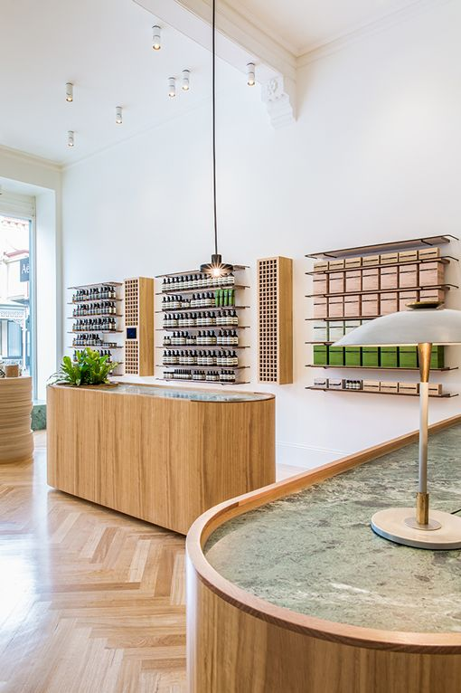 Adelaide Aesop Store Opening With Images Aesop Store Interior Design Awards Retail Design