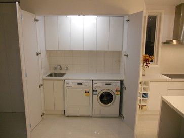 Bi Fold Doors Laundry Room Design Ideas Pictures Remodel And