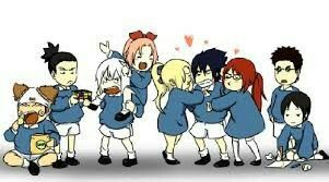 Sasuke celoso de Suigetsu