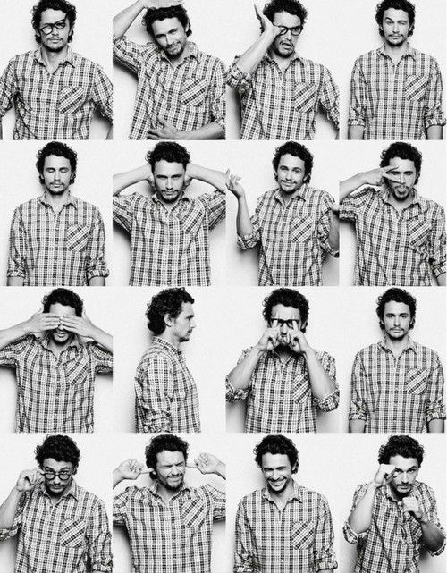 James freeeaking Franco <3