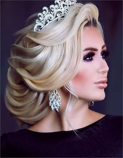 The Next Big Trends in Bridal Styling Hail from Russia | Russian hairstyles, Chignon hair, Hair ...