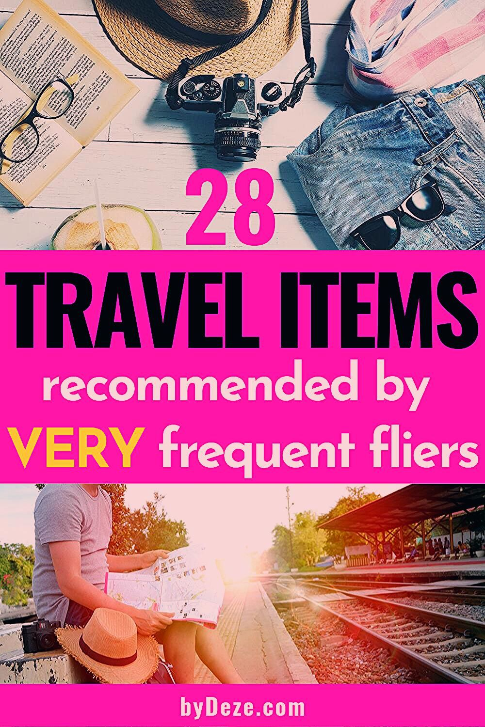 Photo of Tips From Above-Average Travelers: 28 MUST HAVE Travel Items | byDeze