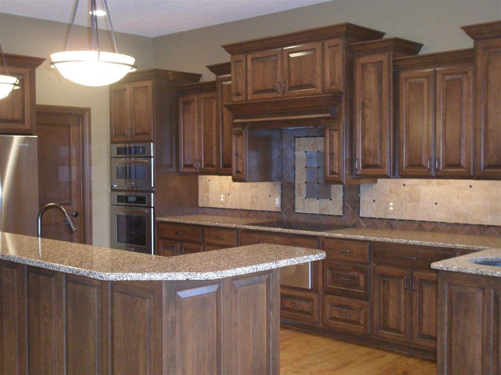 Beautiful maple cabinets. | Kitchen ideas new house ...