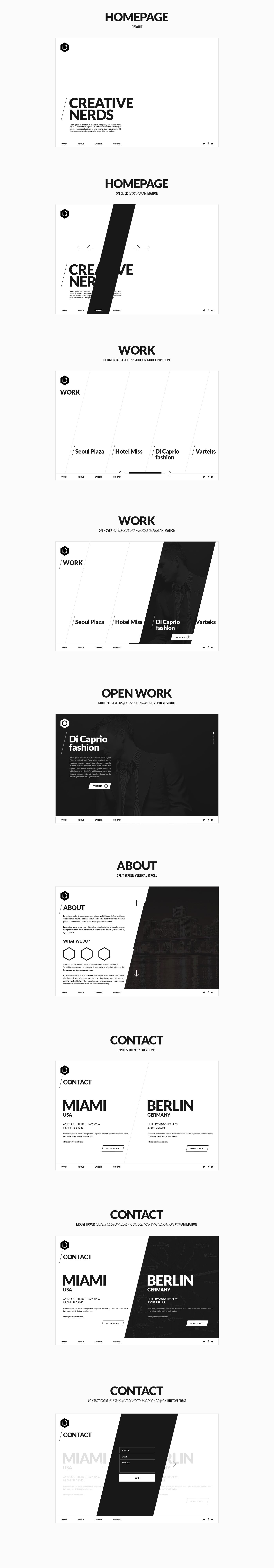Simple and effective minimalist design and color palette. I love seeing a website designed so simple yet effective.