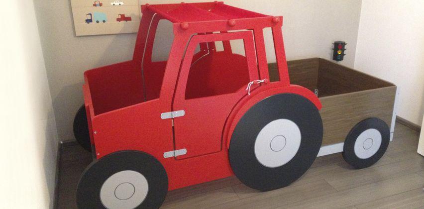 Kinderbett selber bauen traktor  Traktorbett | Kinderzimmer-Ideen | Pinterest | Kinderzimmer ideen ...