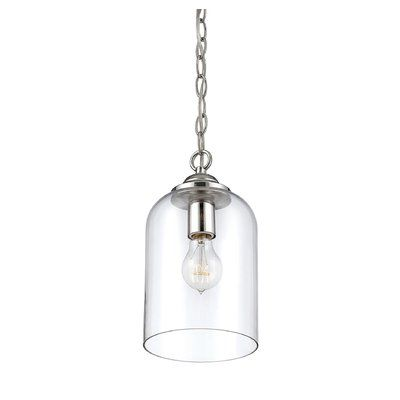 Varick gallery silber 1 light mini pendant finish polished nickel varick gallery silber 1 light mini pendant finish polished nickelclear glass mini pendant and products aloadofball Image collections