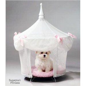 Sugarplum Princess Small Dog Tent Bed & Sugarplum Princess Small Dog Tent Bed | Exclusive Puppy Beds ...