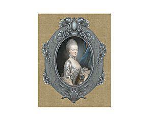 Peinture sur toile MARIE-ANTOINETTE, 24*33