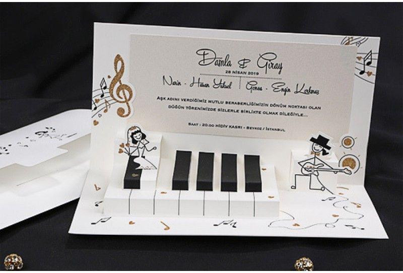 Faire part de mariage piano et musique | Faire part mariage, Faire part mariage humoristique ...