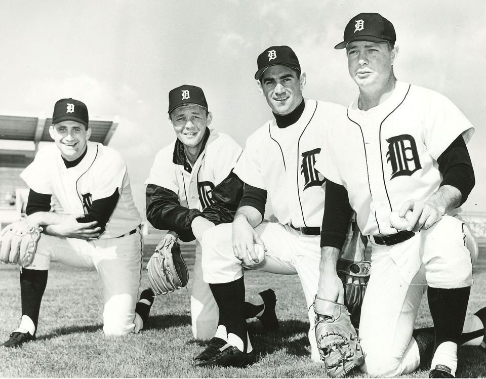 Photo of These classic 1968 Detroit Tigers photos are pure baseball joy