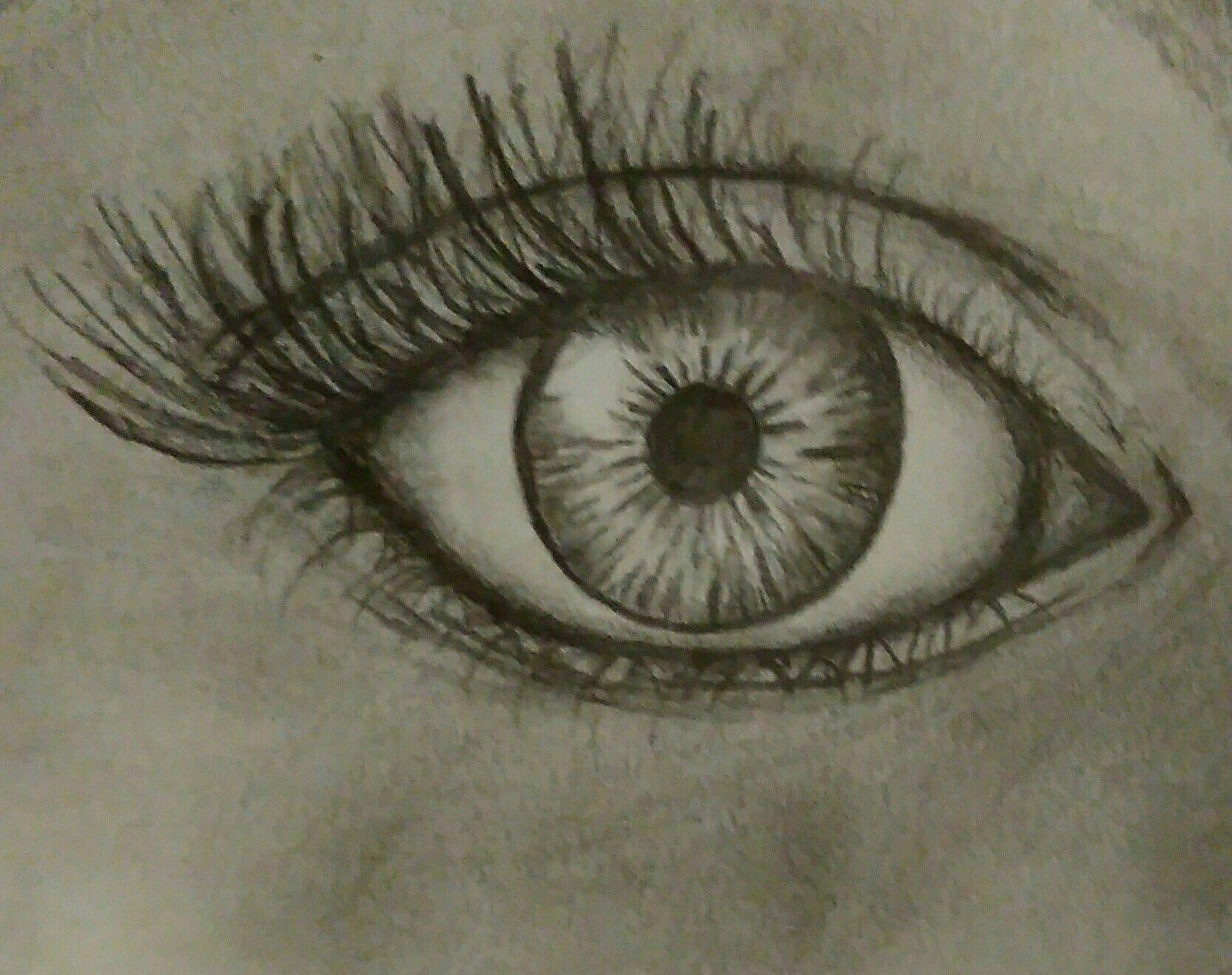 Eye drawing by Falyn Frame