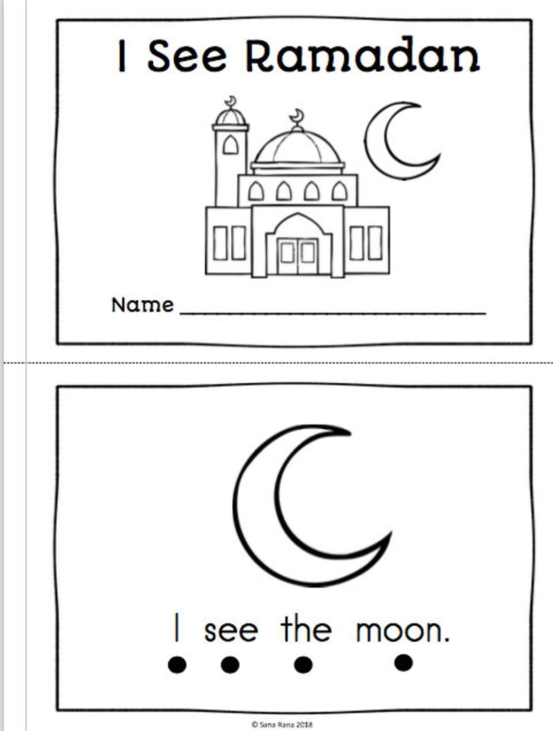 Ramadan Activity Pack Worksheet Printable Download