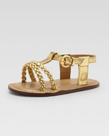 b51e4135 Gucci gold sandals   For the kids   Gucci baby, Gucci baby clothes ...