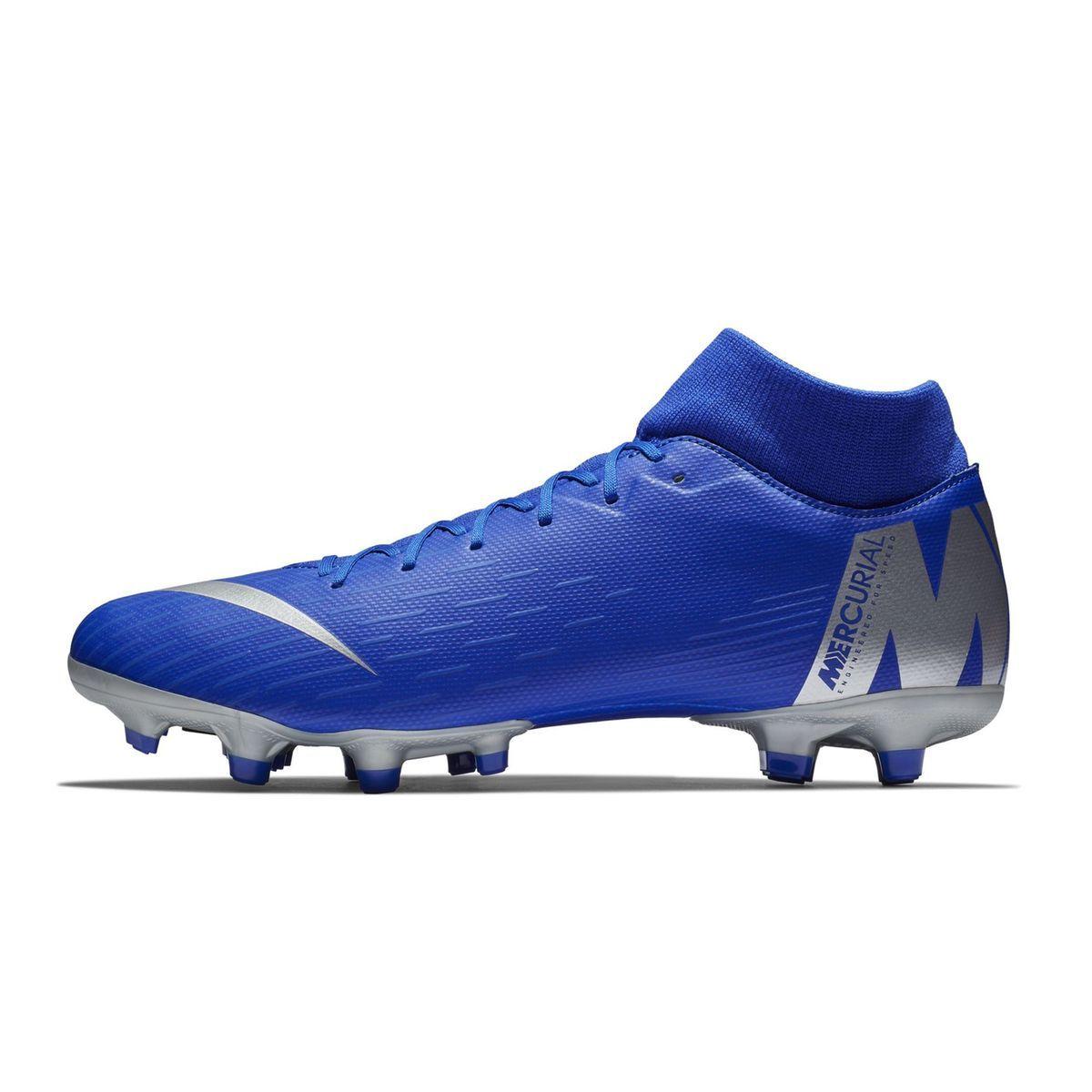 chaussure de foot nike bleu