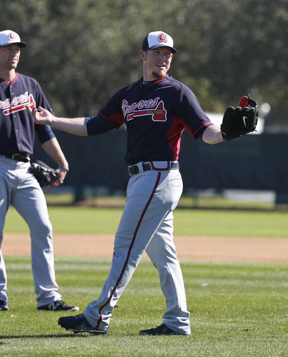 Kimbrel Braves Agree To 42m 4 Year Contract Braves Atlanta Braves Baseball Spring Training Baseball