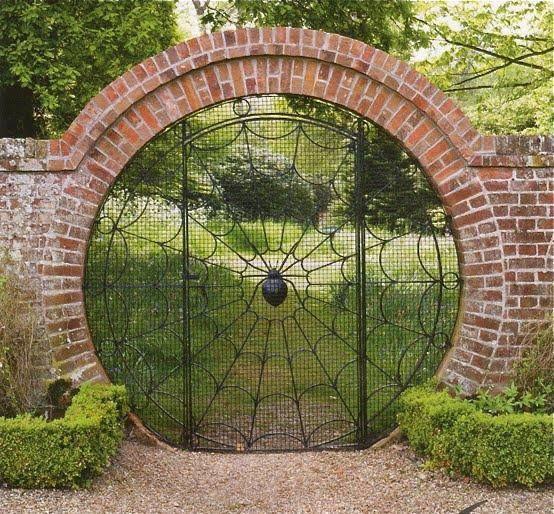 spider gate Curiositats Pinterest Rejas, Ventana y Puertas de
