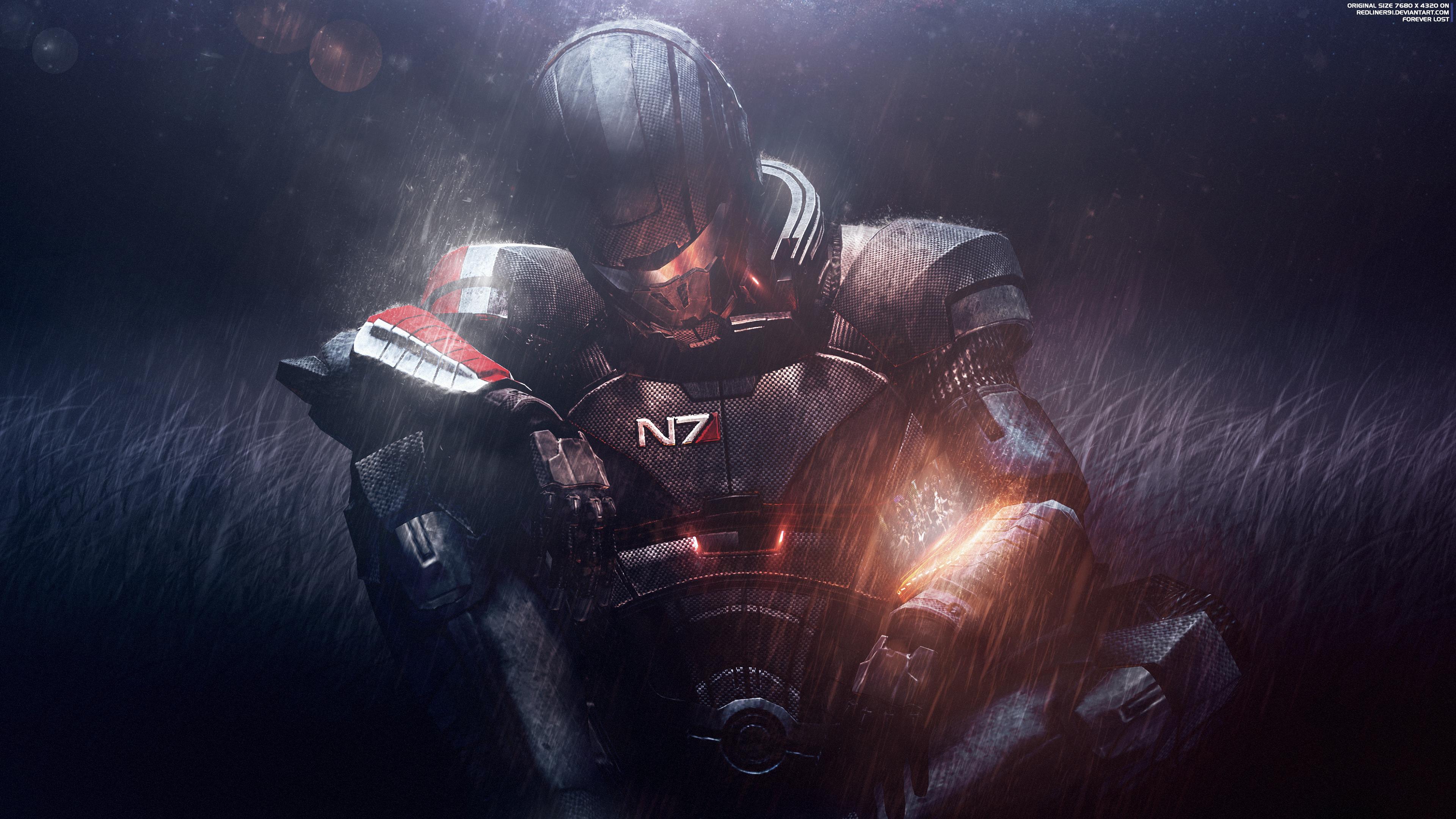 Forever Lost Mass Effect Trilogy 4k Mass Effect Mass Trilogy