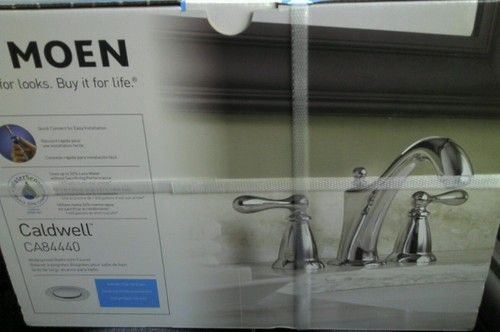 Moen Brand Caldwell Bathroom Faucet Stainless Model # CA84440- $100 or Best Offer